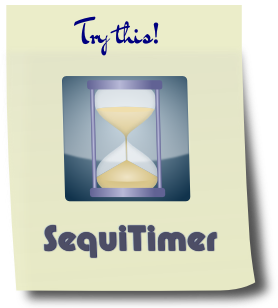 Try our Android Timer SequiTimer